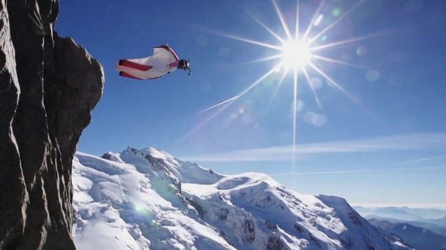 Watch Joby Ogwyn Everest WingSuit Jump Live Atop the Mountain On May