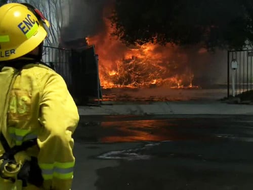 30 homes destroyed in Carlsbad Calif. wildfire