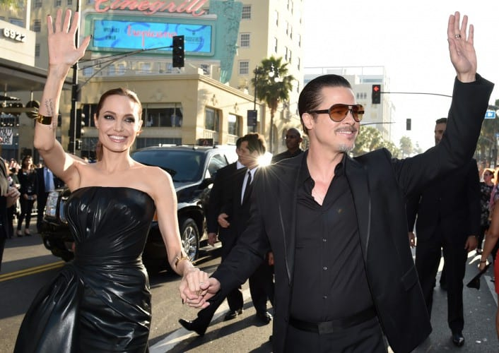 Brad Pitt attacked at Hollywood premiere of Maleficent