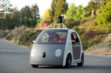 Google unveils self driving car without steering wheel