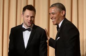 Joel McHale at the 2014 White House Correspondents Dinner Complete VIDEO