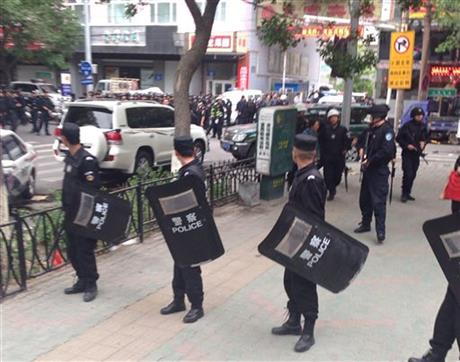 State media Explosives used in attack in China's Xinjiang