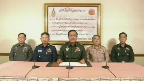 Thailand's military seizes power in coup