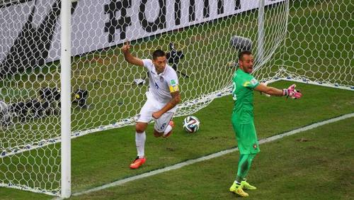 Portugal scores late to tie US 2 2