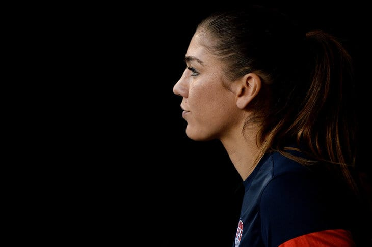 Soccer Star Hope Solo Arrested On Domestic Violence Charges