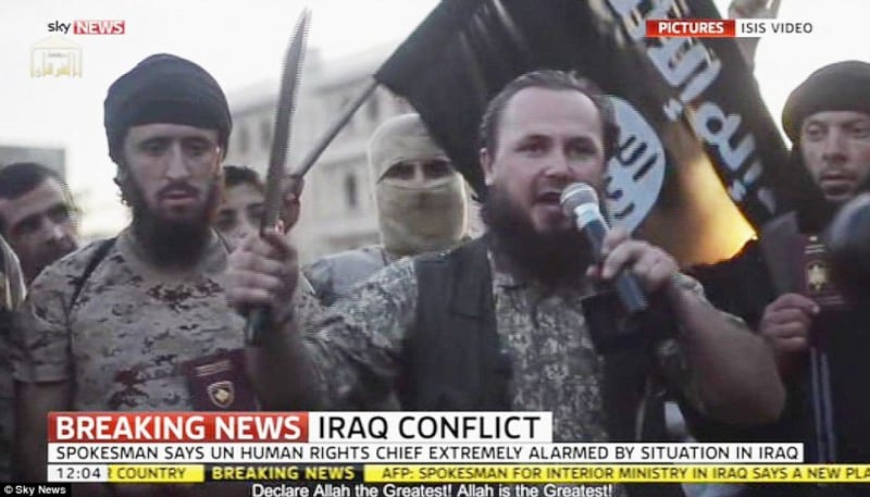 UN 'extremely alarmed' at 'hundreds of deaths in Iraq'