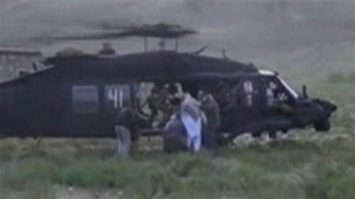 Video released of US soldier being handed over