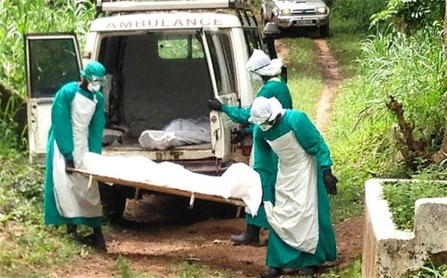 Ebola 'out of control' in West Africa as health workers rush to trace 1500 possible victims