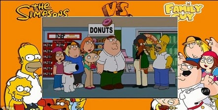 The Simpsons Meet Family Guy episode after trailer is released at Comic Con