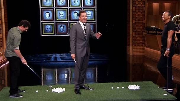 Facebreakers with Tiger Woods Rory McIlroy VIDEO
