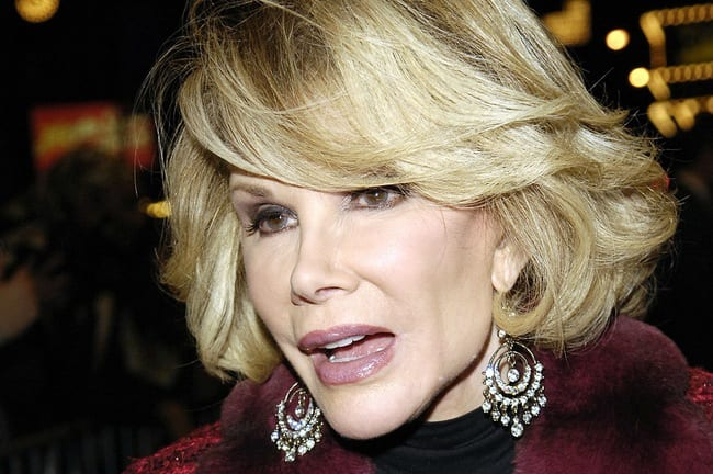 Joan Rivers In Critical Condition Stops Breathing During Surgery