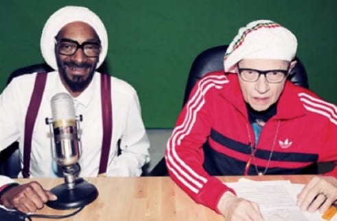 Larry King Talks About Snoop Dogg and Splits a Pot Brownie With Conan O'Brien and Andy Richter on 'Conan'