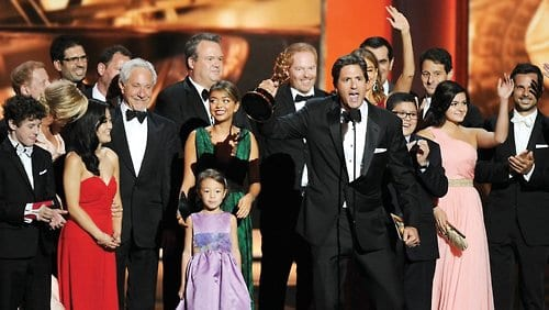 Modern Family Breaking Bad win big at the Emmys
