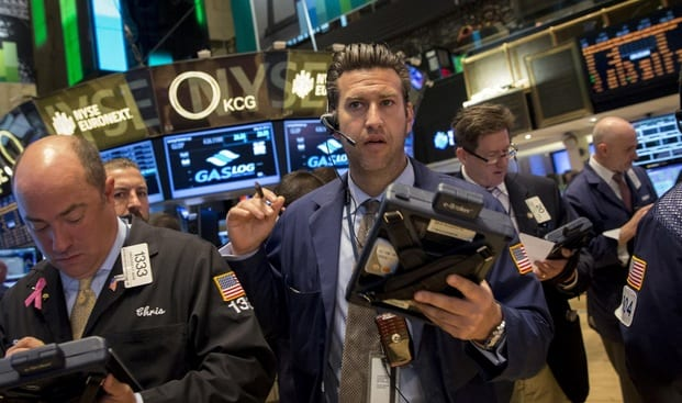 US stocks open higher following upbeat labor market data Dow gains 45 points SP up 7 points