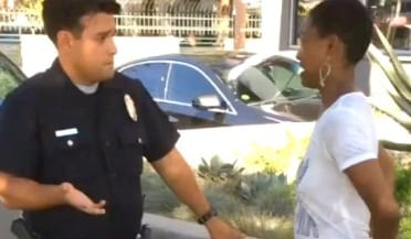 Django Unchained Daniele Watts actress cuffed by cop They thought I was a prostitute