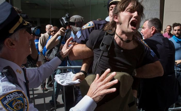 Flood Wall Street Protesters Arrested