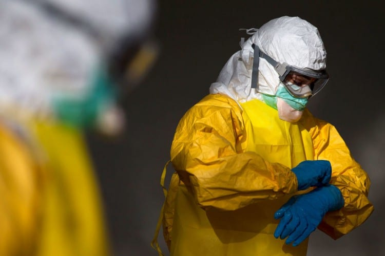 Lawsuit Seeks 500M Over Ebola Gowns
