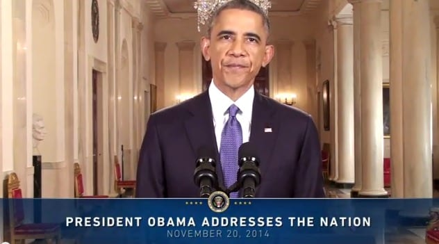 In an address to the nation President Obama lays out the executive action hes taking to fix our nations broken immigration system November 20 2014