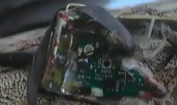 Afghan Police Kill Bird Carrying A Bomb VIDEOS