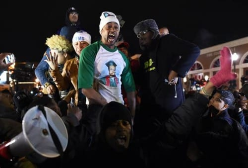 Authorities investigate Michael Brown's stepfather following outburst