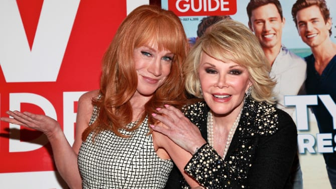 Confirmed Kathy Griffin Will Replace Joan Rivers on Fashion Police