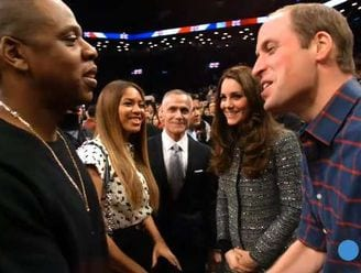 William and Kate meet Jay Z and Beyonce in New York VIDEO