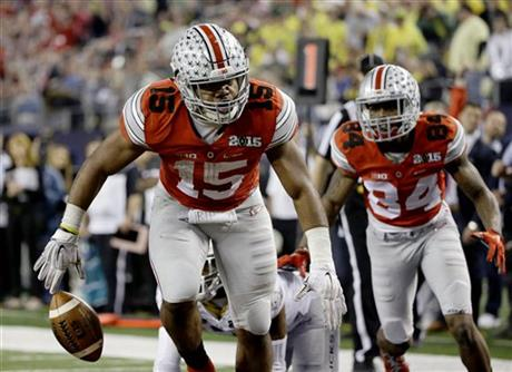 Ohio State beats Oregon 42 20 to win 1st national title