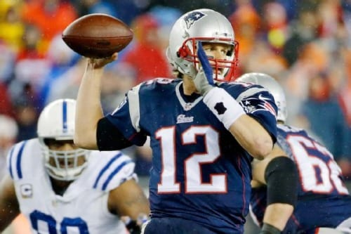 Patriots' footballs under inflated in AFC Championship