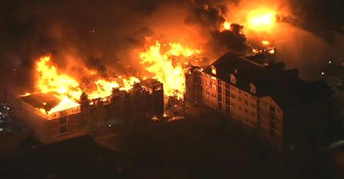 State of the emergency declared after fire in Edgewater N.J