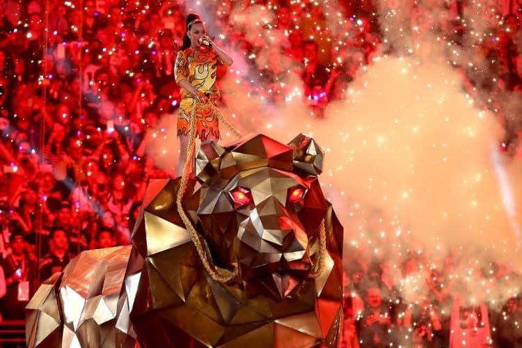 Watch Katy Perry Super Bowl Halftime Show Performance 2015 FULL VIDEO