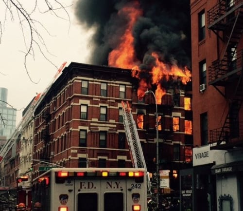 At least 12 injured in East Village New York