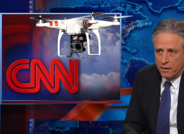 Stewart Rips Selma Coverage CNN Drone Obsessed Fox Aggrieved VIDEO