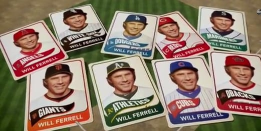 Will Ferrell Plays All 9 Positions In 5 MLB Baseball Games VIDEO