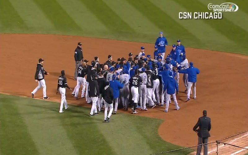 5 Tossed in White Sox Royals Brawl