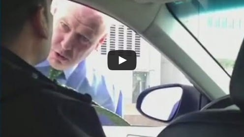 Cop Filmed Berating an Uber Driver Will Be Transferred Out of Elite Unit
