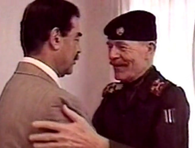 Former Top Deputy to Saddam Hussein King of Clubs Killed