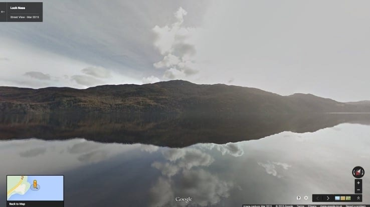Search for Loch Ness Monster on Google Street View VIDEO