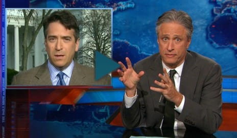 jon stewart and the history framework future negotiations on a nuclear deal