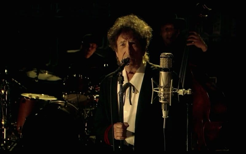 Bob Dylan Sings Farewell to Letterman