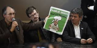 Charlie Hebdo receives PEN freedom of expression award VIDEO