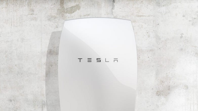 Tesla Solar Battery to Power Homes Businesses VIDEO