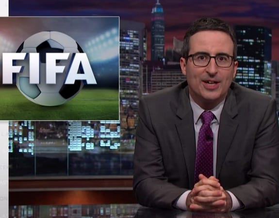 John Oliver Update Us In The FIFA Scandal VIDEO