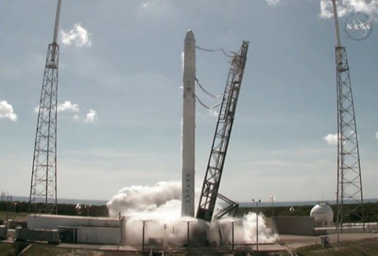 NASASpaceX Rocket Breaks Up After Launch With Space Station Cargo VIDEO