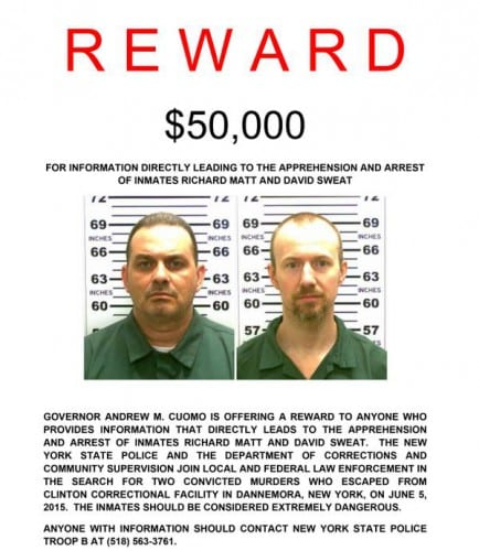 New York State Prison Escapees Search Enters Second Day