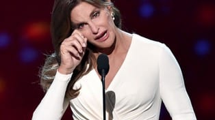 Caitlyn Jenner accepts Ashe Courage Award at ESPYs VIDEO