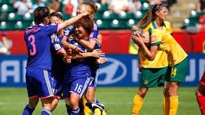 FIFA Womens World Cup 2015 England Scores on Own Goal Loses To Japan VIDEO