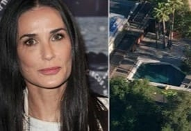 Man drowns in Los Angeles pool owned by Demi Moore VIDEO