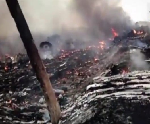 New video of Flight 17 crash emerges 1 year later