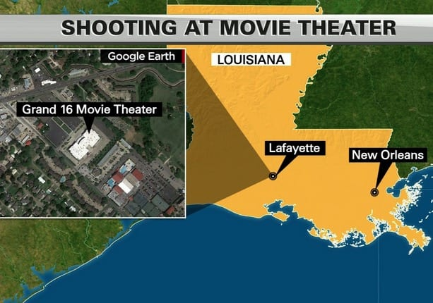Three Dead Seven Injured in Lafayette Movie Theater Shooting VIDEO