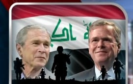 Bush blames Clinton Obama for rise of ISIS and says overthrowing Saddam Hussein a pretty good deal